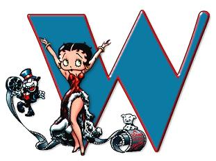 Betty boop 3 alphabete