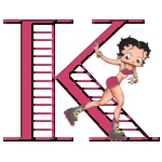 Betty boop 4 alphabete