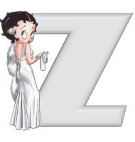 Betty boop 5 alphabete