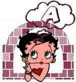 Betty boop denken alphabete