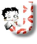 Betty boop kuss alphabete