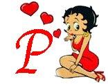 Betty boop liebe alphabete