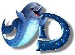 Delphin 3 alphabete