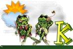 Frosch alphabete