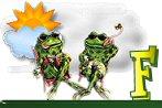 Frosche alphabete