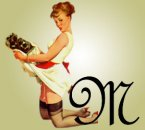 Pin up alphabete