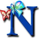 Schmetterlinge schleife alphabete