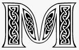 Schwarz weiss alphabete