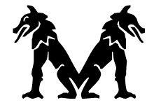 Tier schwarz weiss 2 alphabete