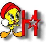 Weihnachten tweety alphabete