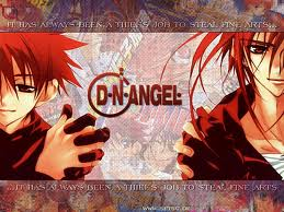 Dn angel anime