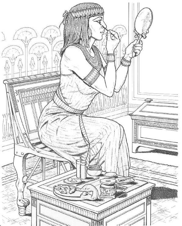 Agyptischer alltag ausmalbilder