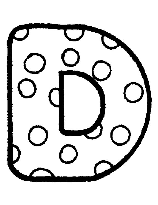 Alphabet punkte ausmalbilder