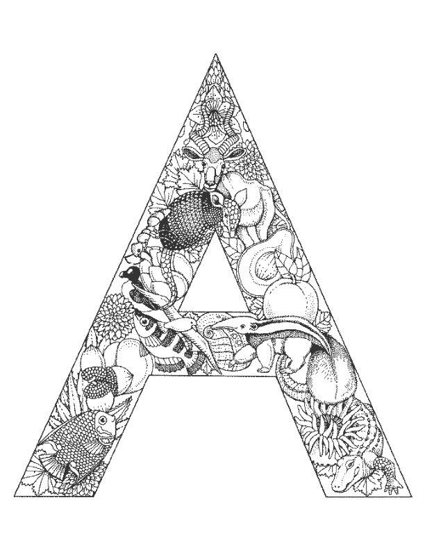 Alphabet tieren