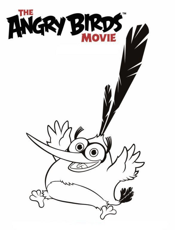 Angry birds der film ausmalbilder