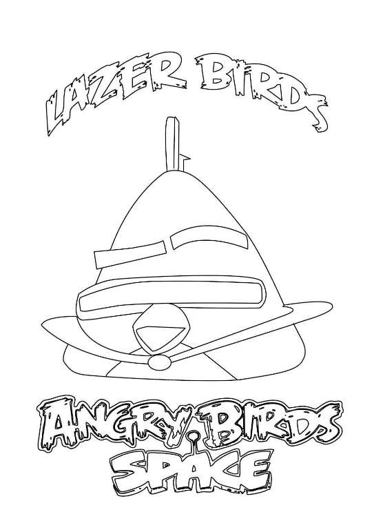 Angry birds space ausmalbilder