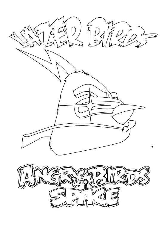 Angry birds space ausmalbilder