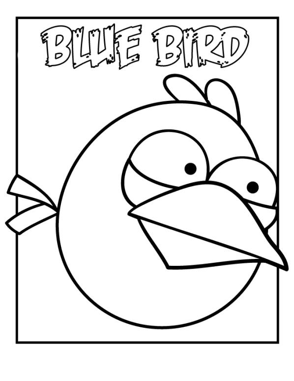 Angry birds ausmalbilder