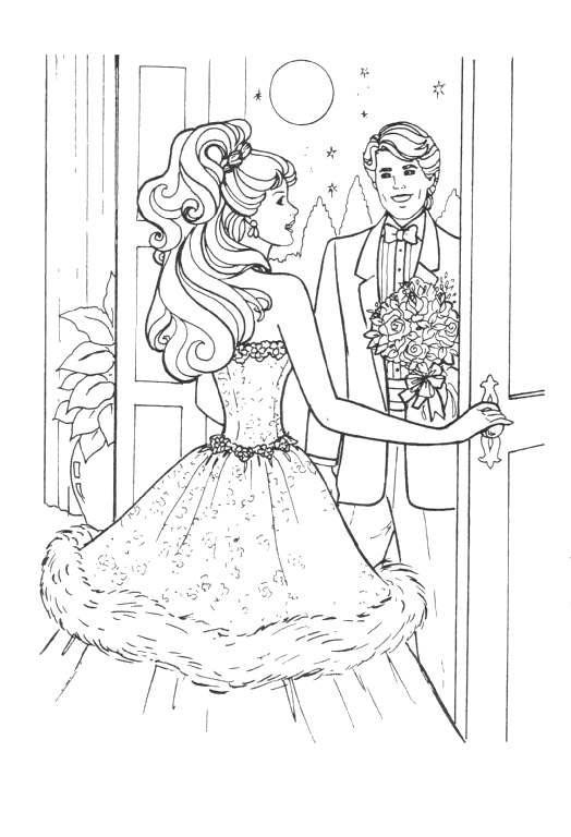 Barbie Ausmalbilder | Animaatjes.de