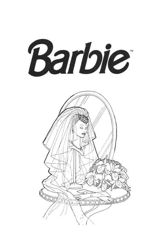 Barbie ausmalbilder