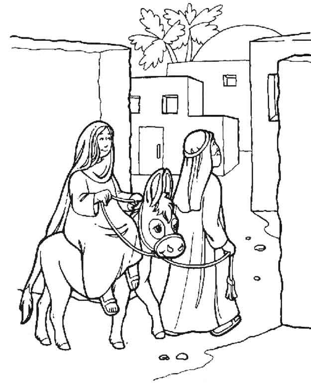 Malvorlage - Bibel weihnachtsgeschichten ausmalbilder emuvt