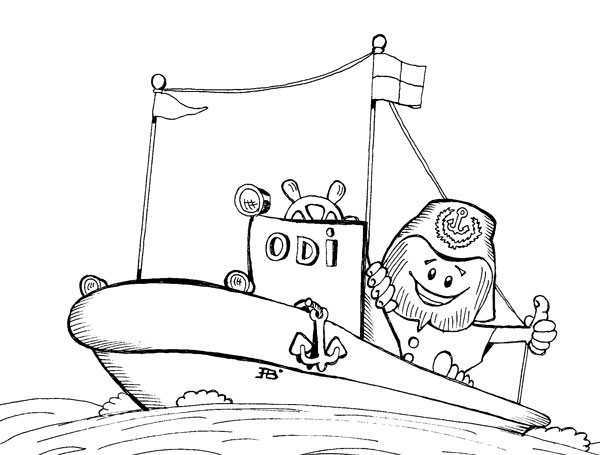 Boote ausmalbilder