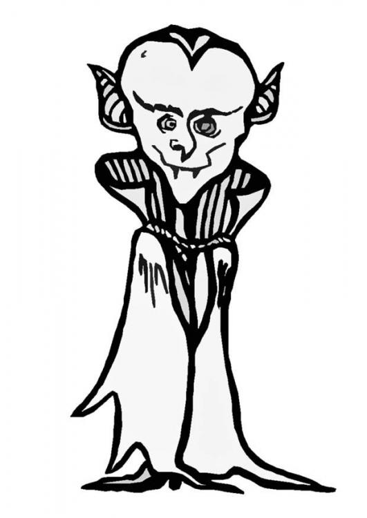 Dracula ausmalbilder
