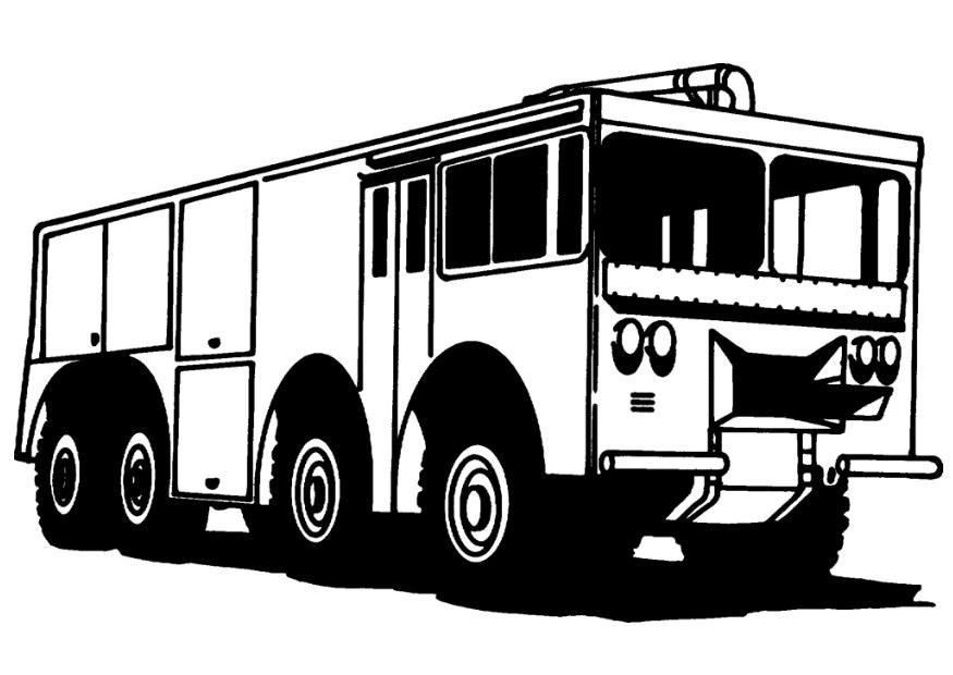 Malvorlage Feuerwehr Malvorlagen 32