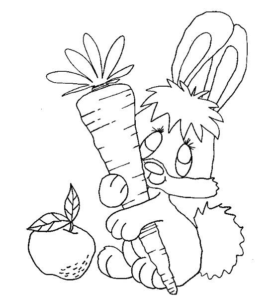 Kaninchen ausmalbilder
