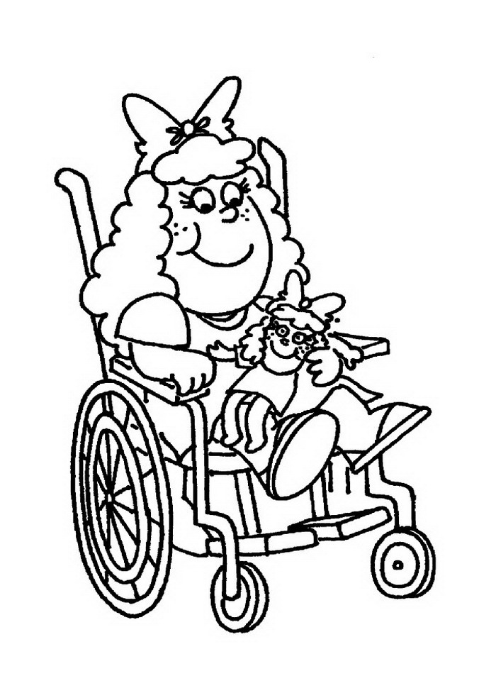 Kinder mit behinderungen ausmalbilder