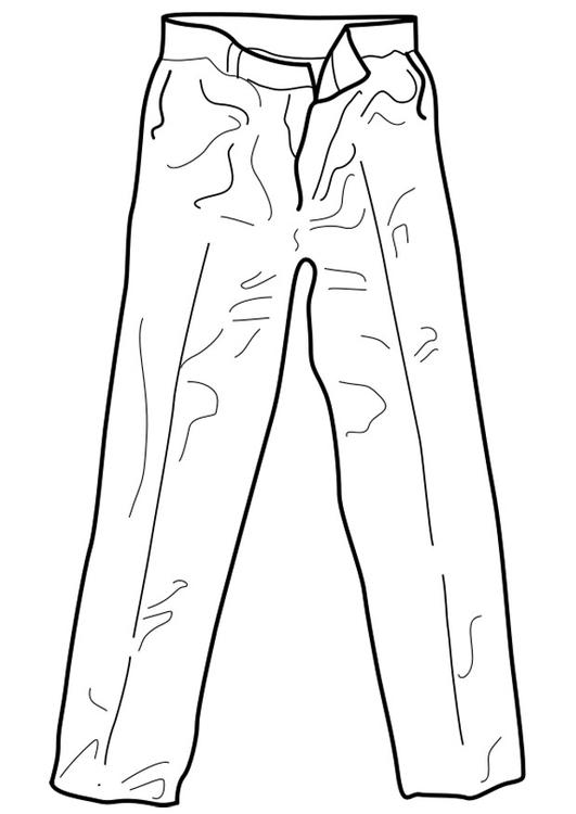 Kleidung ausmalbilder