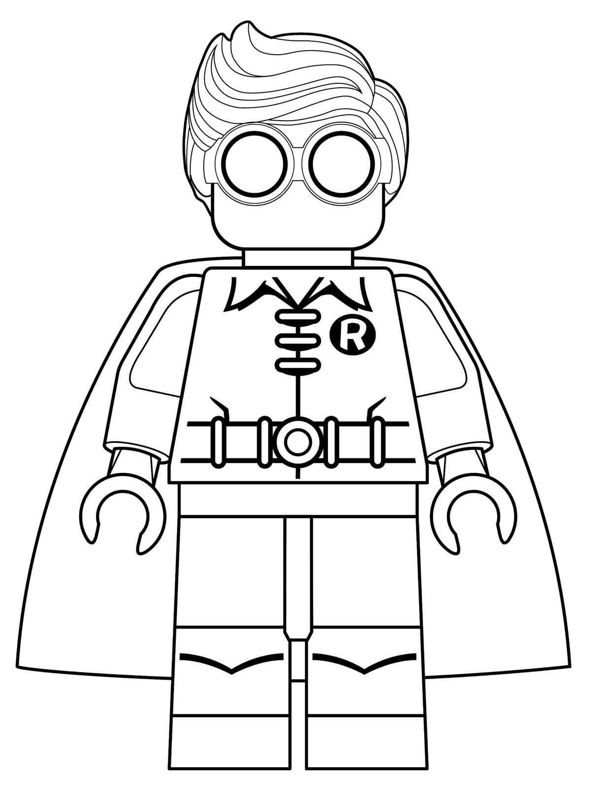 Malvorlage - Lego batman ausmalbilder 3xvbg