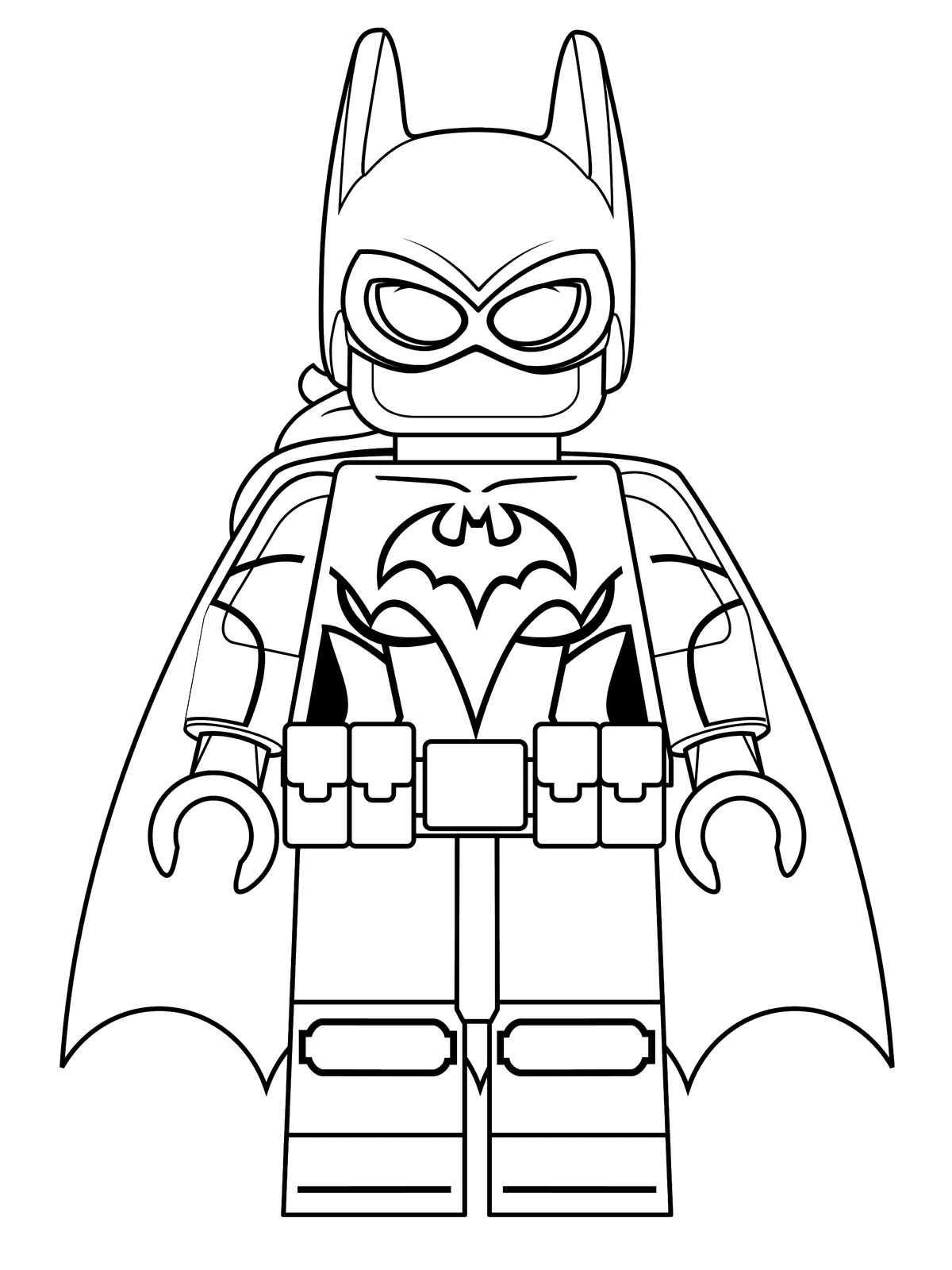 Malvorlage - Lego batman ausmalbilder avzq6
