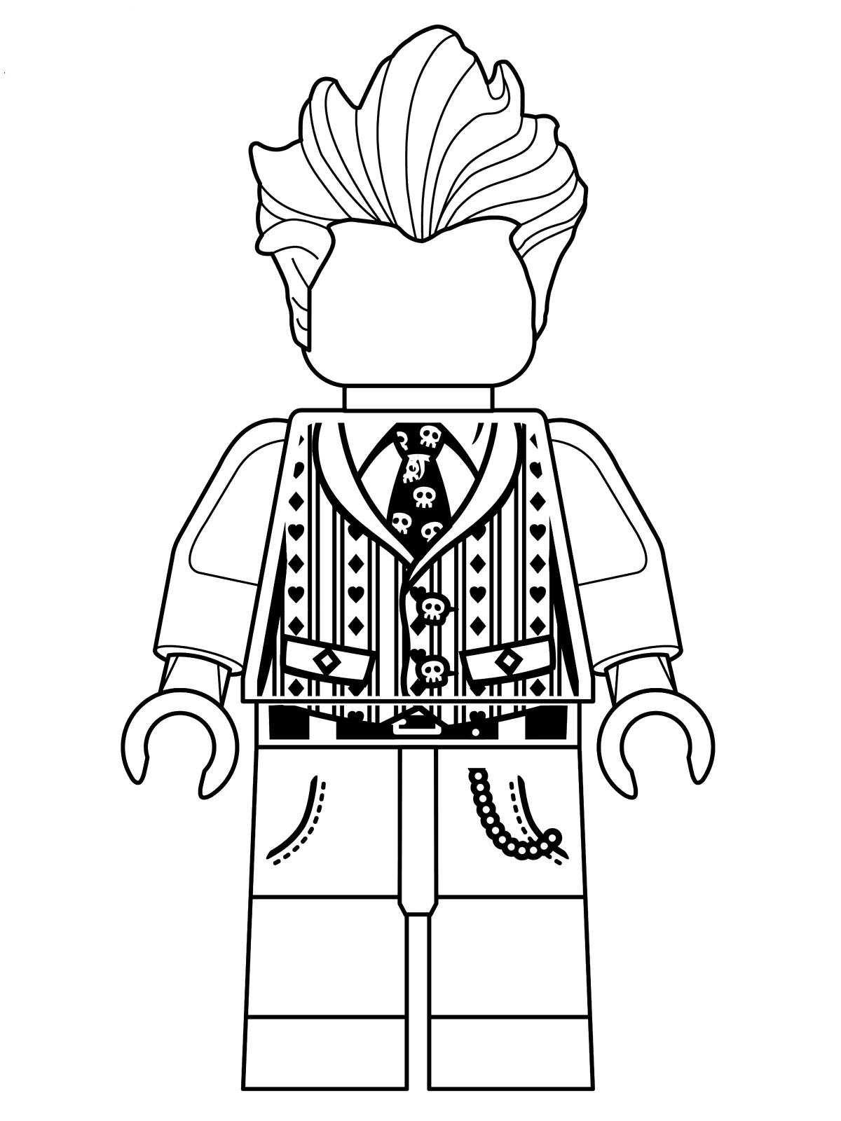 Malvorlage - Lego batman ausmalbilder hazdy
