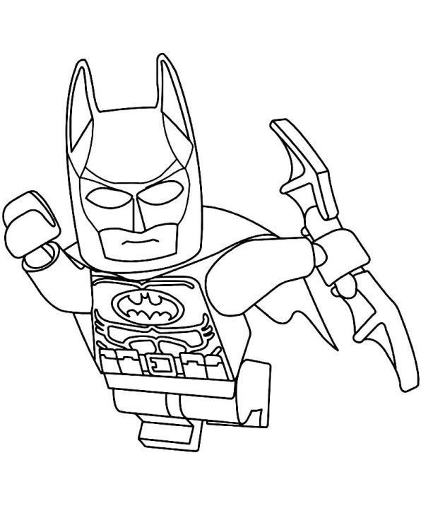 Malvorlage Lego Batman Ausmalbilder Jeked