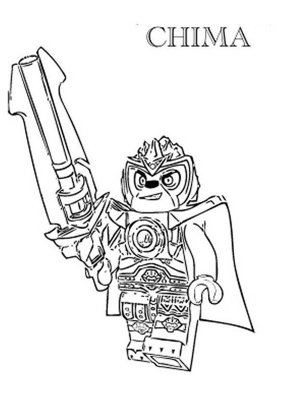 Lego chima ausmalbilder