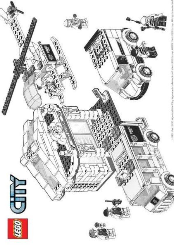 Malvorlage Lego City Ausmalbilder 7dxyz