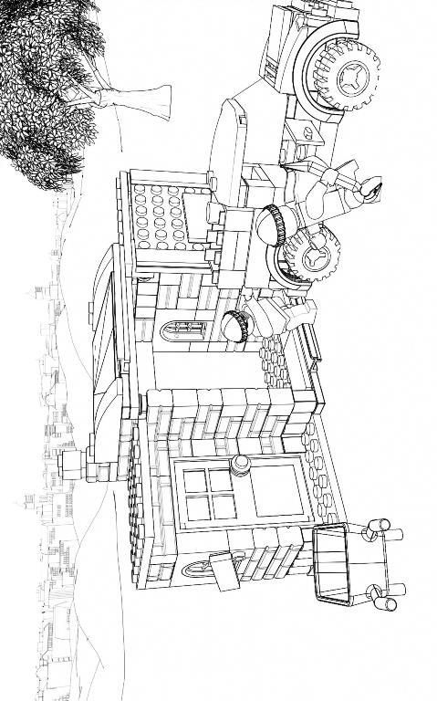 Lego city ausmalbilder
