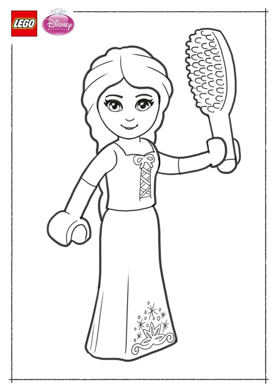 Lego Disney Prinzessinnen Ausmalbilder Animaatjes De
