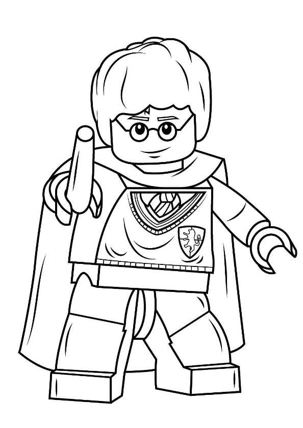 Lego harry potter ausmalbilder