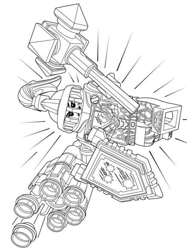 Lego Nexo Knights Ausmalbilder Animaatjes De