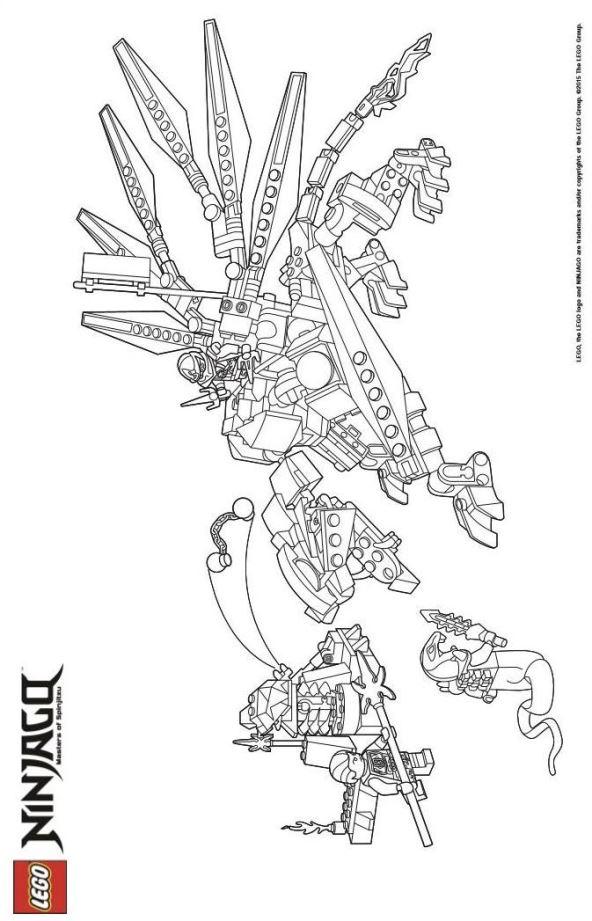 Malvorlage Lego ninjago ausmalbilder b3gmx