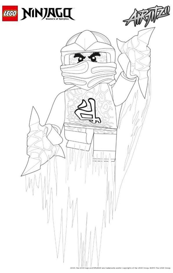 Lego ninjago ausmalbilder - Lego ninjago a colorier ...