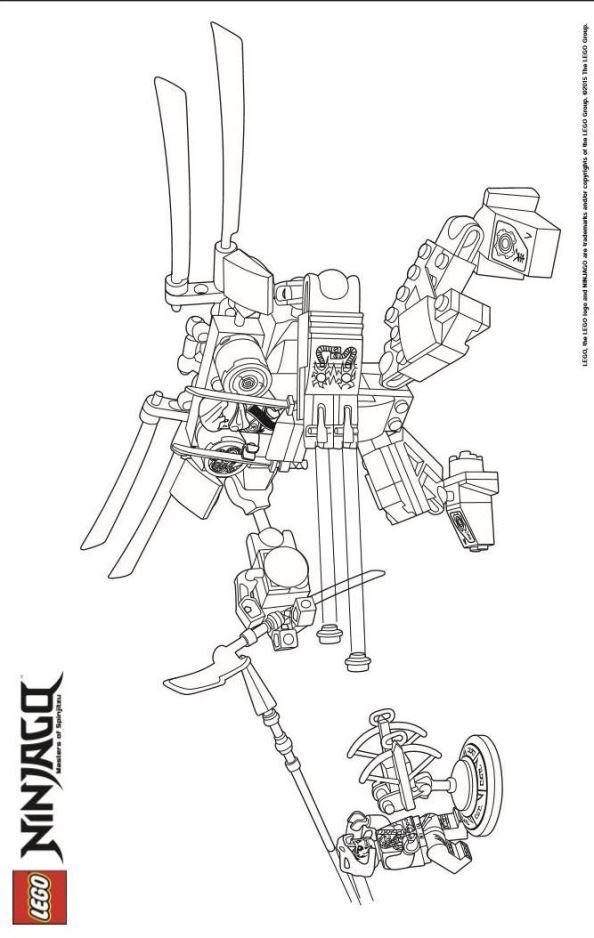malvorlage  lego ninjago ausmalbilder rtbje