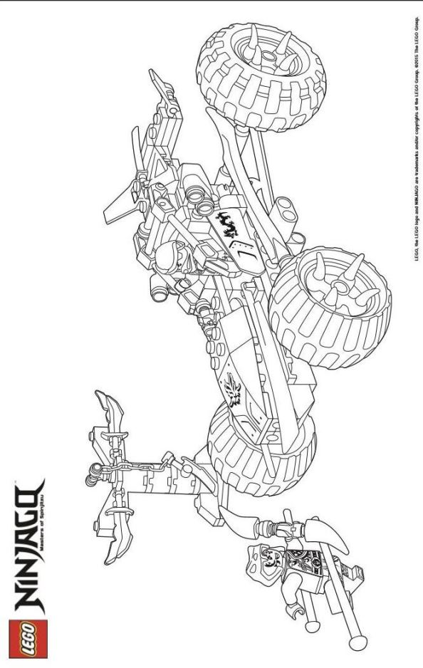 Image Result For Ninjago Golden Dragon Coloring Pages