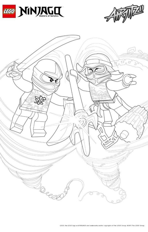 Lego Ninjago Ausmalbilder Animaatjes De