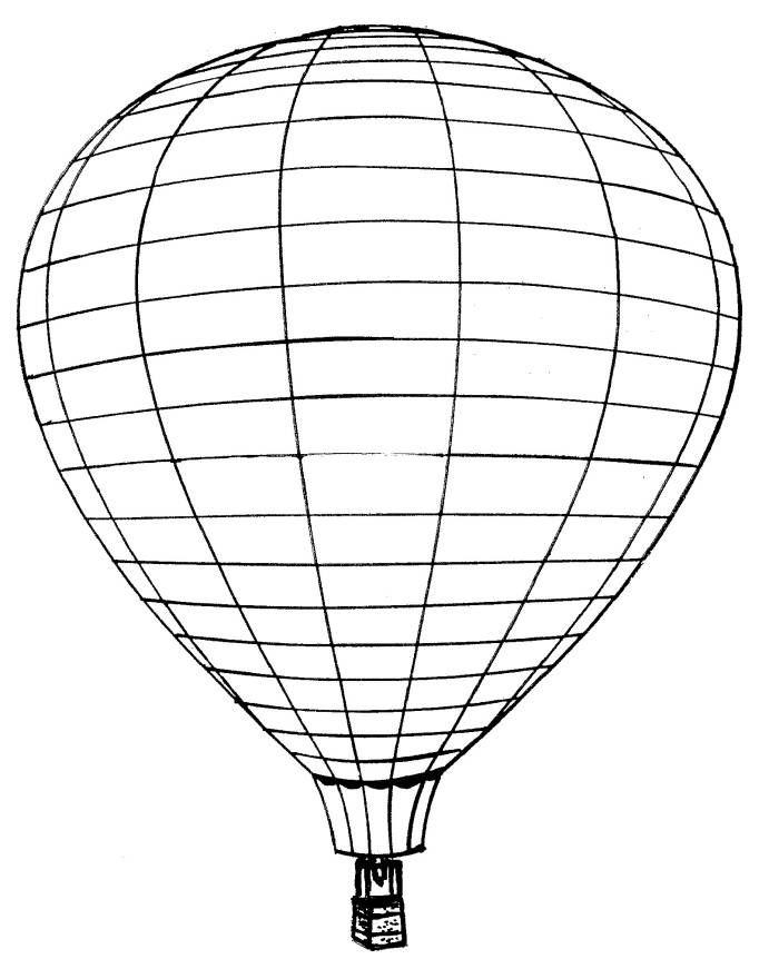Luftballons ausmalbilder
