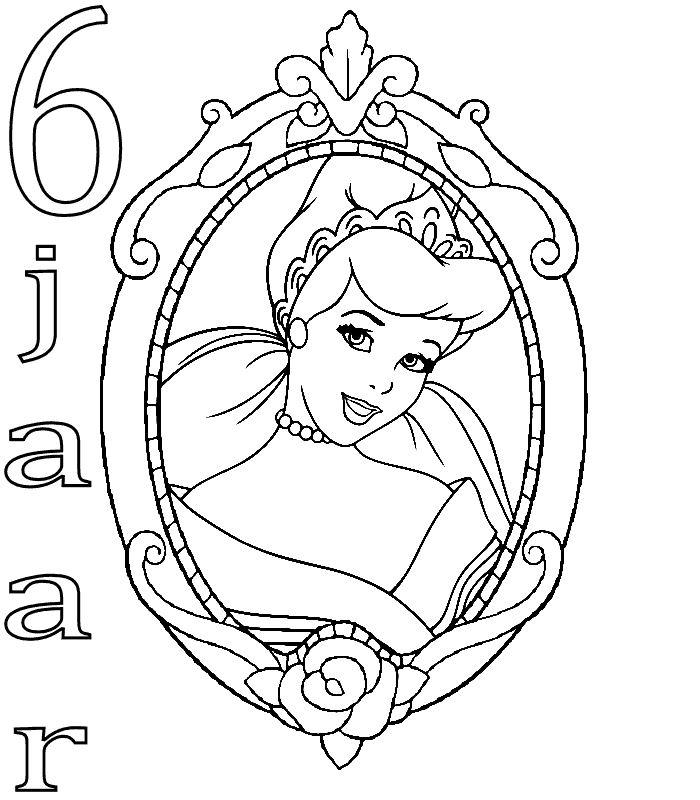 Prinzessin geburtstag ausmalbilder