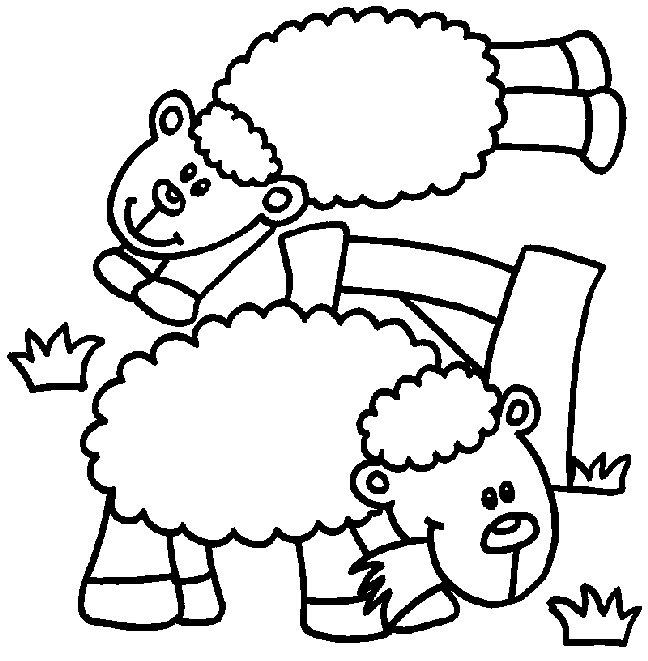 Schafe ausmalbilder