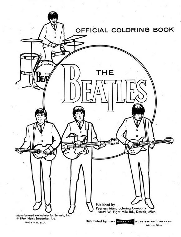 The beatles ausmalbilder